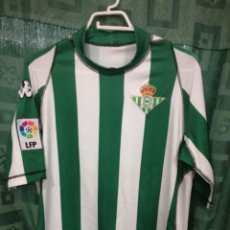 Coleccionismo deportivo: REAL BETIS TALLA XL CAMISETA FUTBOL FOOTBALL SHIRT. Lote 124412335