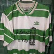 Coleccionismo deportivo: SANTANDER REGIONAL CANTABRIA XL DORSAL 4 CAMISETA FUTBOL FOOTBALL SHIRT. Lote 124412619