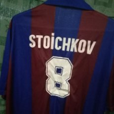 Coleccionismo deportivo: FC BARCELONA STOICHKOV GENERICA XL CAMISETA FUTBOL FOOTBALL SHIRT. Lote 124587131
