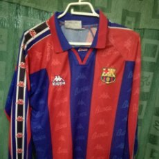 FC Barcelona MATCH WORN B L camiseta futbol football shirt