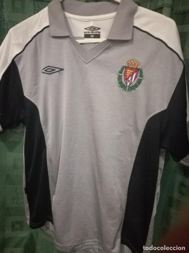 Usado, REAL VALLADOLID XS talla 10 Camiseta futbol football shirt segunda mano