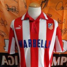 Coleccionismo deportivo: CAMISETA FUTBOL ATLETICO MADRID 1997-1998 UEFA. Lote 125211307