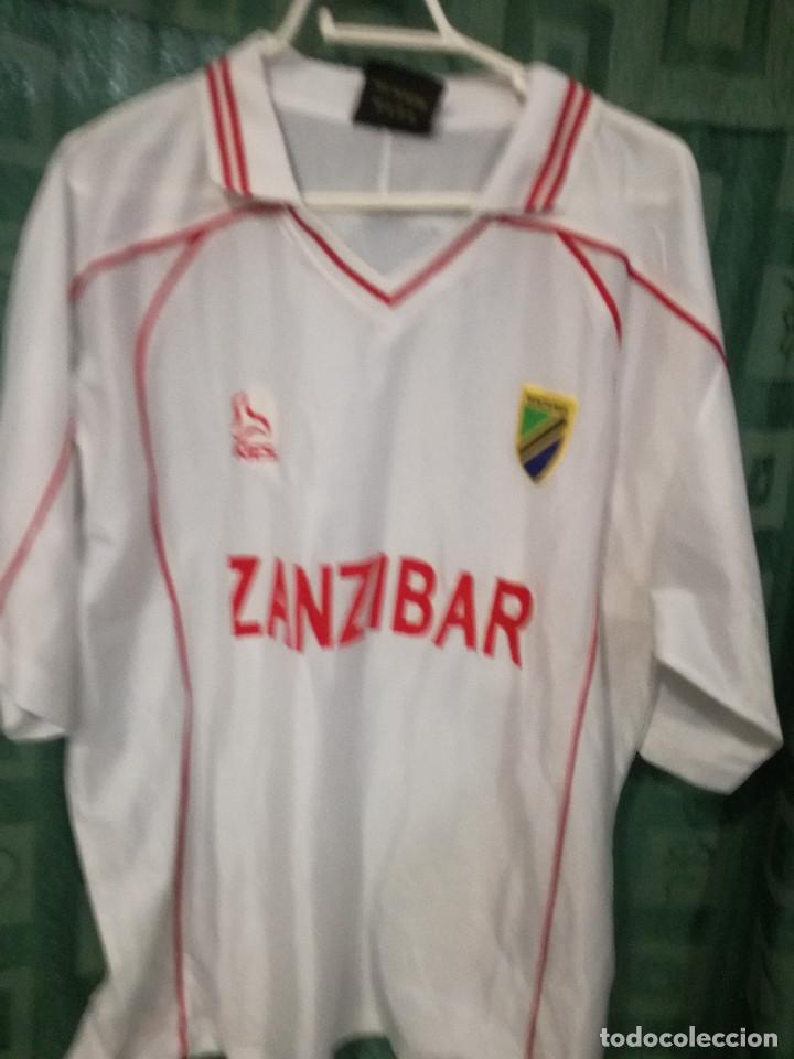 TANZANIA L CAMISETA FUTBOL FOOTBALL SHIRT (Coleccionismo Deportivo - Ropa y Complementos - Camisetas de Fútbol)