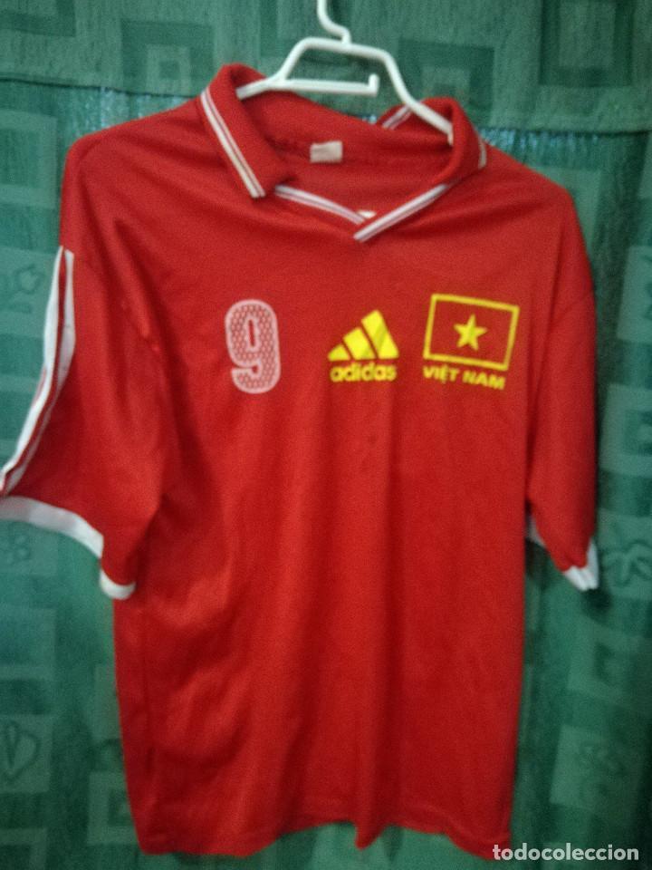 VIETNAM XS CAMISETA FUTBOL FOOTBALL SHIRT (Coleccionismo Deportivo - Ropa y  Complementos - Camisetas de d9679b22d4e