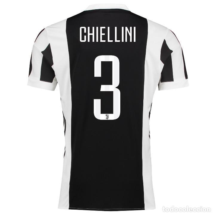 huge selection of 9253f 2f52e Camiseta shirt oficial casa preparada version player Adizero AC Juventus  2017/2018 Chiellini