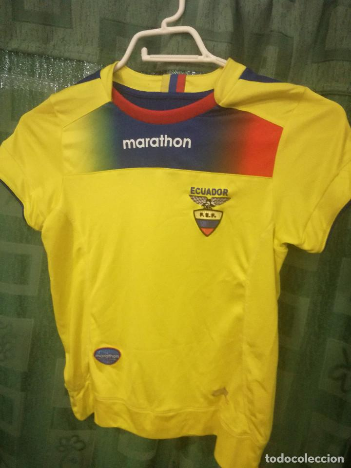 mejor proveedor sobornar auténtico mujer Ecuador Chica Mujer - Talla XS - Niño 8 años Camiseta futbol football shirt