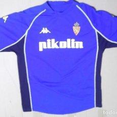 Coleccionismo deportivo: CAMISETA FUTBOL ORIGINAL KAPPA REAL ZARAGOZA PIKOLIN . Lote 126055291