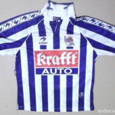 Coleccionismo deportivo: CAMISETA FUTBOL ORIGINAL ASTORE OFICIAL REAL SOCIEDAD KRAFFT . Lote 126057923