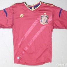 Coleccionismo deportivo: CAMISETA FUTBOL ORIGINAL SELECCION ESPAÑOLA ESPAÑA OFICIAL CAMPEONES EUROPA 1964 2008. Lote 126058675
