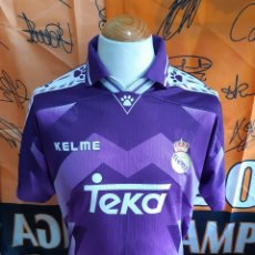 Coleccionismo deportivo: CAMISETA FUTBOL REAL MADRID 1996-1997 TEKA KELME. Lote 126168759