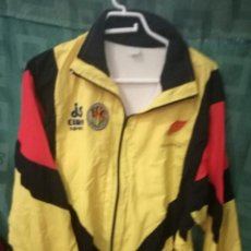 CATALUNYA MATCH WORN JACKET L camiseta futbol football shirt