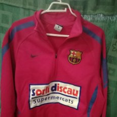 Collezionismo sportivo: FC BARCELONA FUTSAL SORLI DISCAU L JERSEY SUDADERA CAMISETA FUTBOL FOOTBALL SHIRT. Lote 126930411