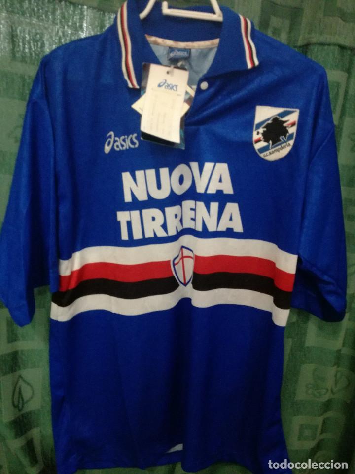 2ba23918c1 Sampdoria vintage calcio italia l camiseta fut - Vendido en Venta ...