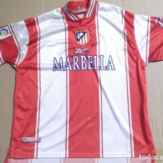 Sports collectibles - CAMISETA FUTBOL ORIGINAL REEBOK OFICIAL ATLETICO MADRID MARBELLA - 127127947