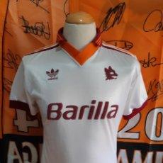 Coleccionismo deportivo: CAMISETA FUTBOL A.S ROMA 1992-1993 (S) ADIDAS BARILLA. Lote 127494331
