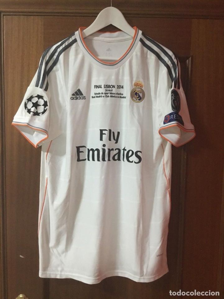 CAMISETA OFICIAL CASA R. MADRID BALE (Coleccionismo Deportivo - Ropa y Complementos - Camisetas de Fútbol)