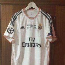 Coleccionismo deportivo: CAMISETA OFICIAL CASA R. MADRID BALE. Lote 127734995