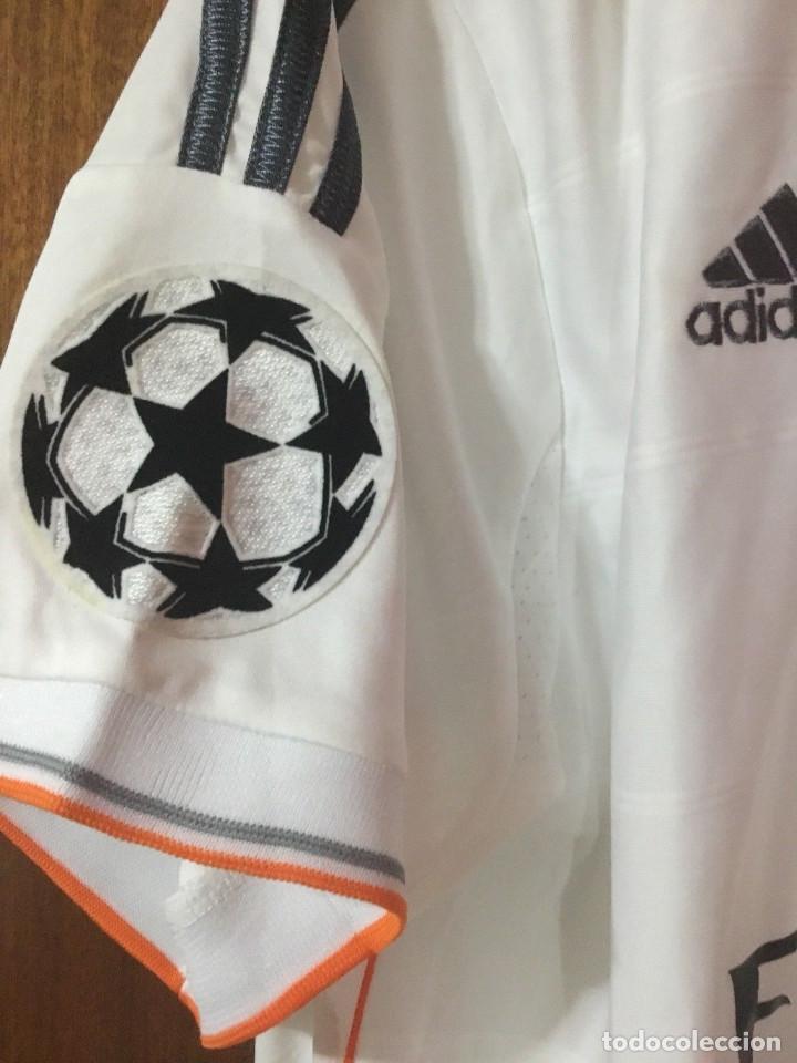 Coleccionismo deportivo: Camiseta oficial casa R. Madrid Bale - Foto 6 - 127734995