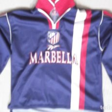 Sports collectibles - CAMISETA FUTBOL ORIGINAL REEBOK OFICIAL ATLETICO MADRID MARBELLA - 127752771