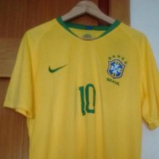 Sports collectibles - Camiseta casa Selección Brasil 2018 talla L Neymar - 127845987