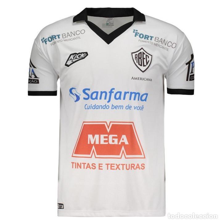 CAMISETA TITULAR CASA RIO BRANCO CF BRASIL 2018 TALLA L (Coleccionismo Deportivo - Ropa y Complementos - Camisetas de Fútbol)