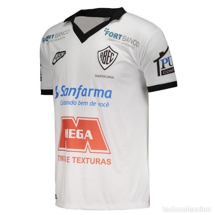 Coleccionismo deportivo: Camiseta titular casa Rio Branco CF Brasil 2018 talla L - Foto 2 - 127953263
