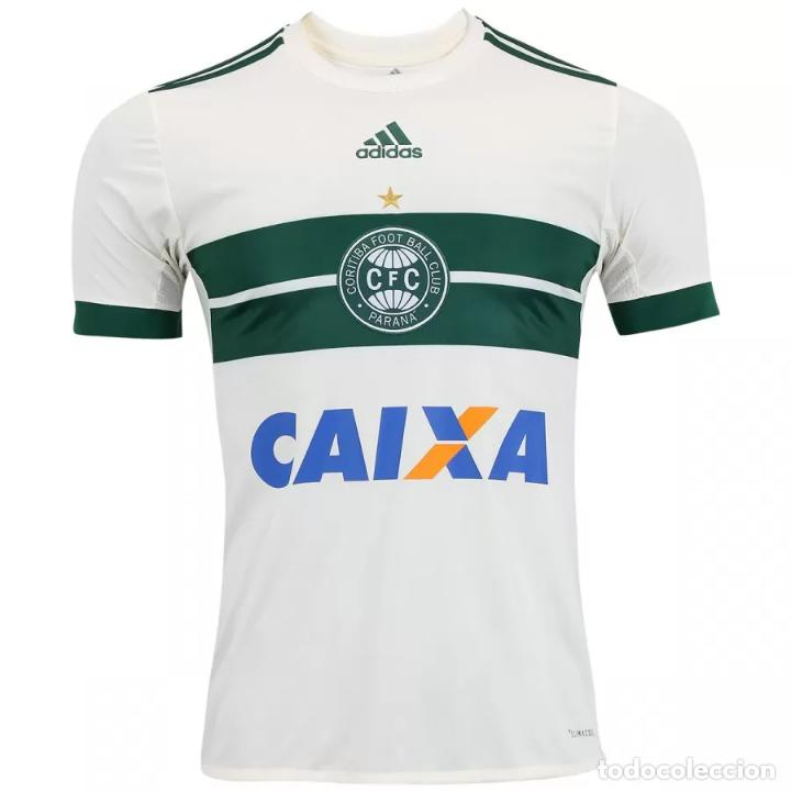 CAMISETA OFICIAL TITULAR CORITIBA FC BRASIL 2017 2018 TALLA L  (Coleccionismo Deportivo - Ropa 39a127a9ee3c2