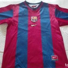 Coleccionismo deportivo: ANTIGUA CAMISETA FC BARCELONA BARCA NIKE TEAM USADA VER FOTOS PARA MEDIDAS. Lote 128136031