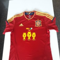 Coleccionismo deportivo: CAMISETA SELECCIÓN ESPAÑOLA ORIGINAL ADIDAS - FINAL KIEV - TALLA S. Lote 128180167