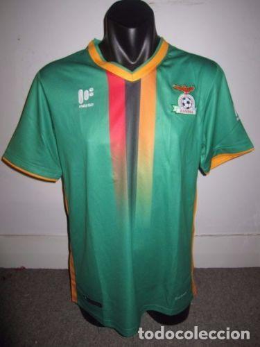 Tall Zambia Camisetas Selección Comprar De Titular 2018 Camiseta wTBXqX