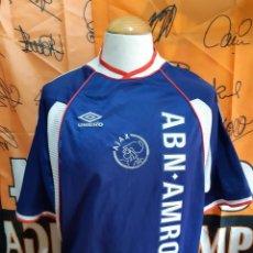 Coleccionismo deportivo: CAMISETA FUTBOL AJAX AMSTERDAM 1999-2000 UMBRO. Lote 128240439