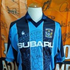 Coleccionismo deportivo: CAMISETA FUTBOL COVENTRY CITY 1997-1998 LE COQ. Lote 128240627