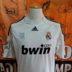 Coleccionismo deportivo: CAMISETA FUTBOL REAL MADRID 2009-2010 BWIN. Lote 128240811