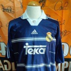 Coleccionismo deportivo: CAMISETA FUTBOL REAL MADRID 1998-1999 ADIDAS TEKA. Lote 128241307