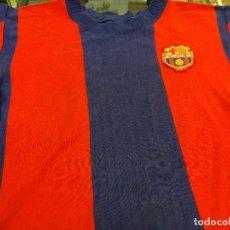 Coleccionismo deportivo: CF BARCELONA. CAMISETA NIÑO ORIGINAL. AÑOS 1960S. Lote 128301859