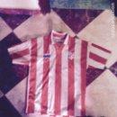 Coleccionismo deportivo: CAMISETA ANTIGUA ATLÉTICO DE MADRID ÚNICA OFICIAL. Lote 128363910