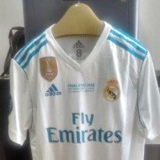 Coleccionismo deportivo: CAMISETA CASA OFICIAL REAL MADRID FINAL CHAMPION LEAGUE 2018 RONALDO . Lote 128584311