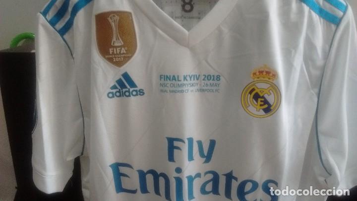 camiseta casa oficial real madrid final champio - Comprar Camisetas de Fútbol en todocoleccion ...