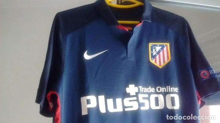 e5d73d2c1824a Coleccionismo deportivo  Camiseta visitante Match worn Atlético Madrid Koke  2015 2016 - Foto 2