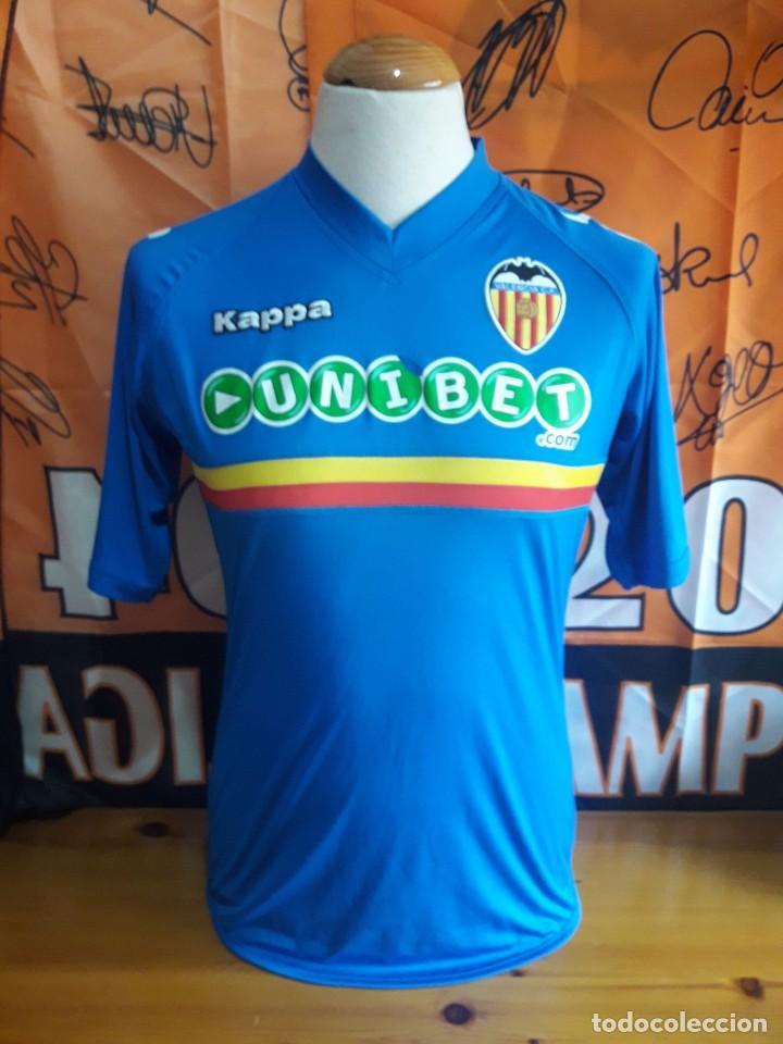 CAMISETA FUTBOL VALENCIA C.F 2010-2011 KAPPA UNIBET (Coleccionismo  Deportivo - Ropa y Complementos c5346156494de