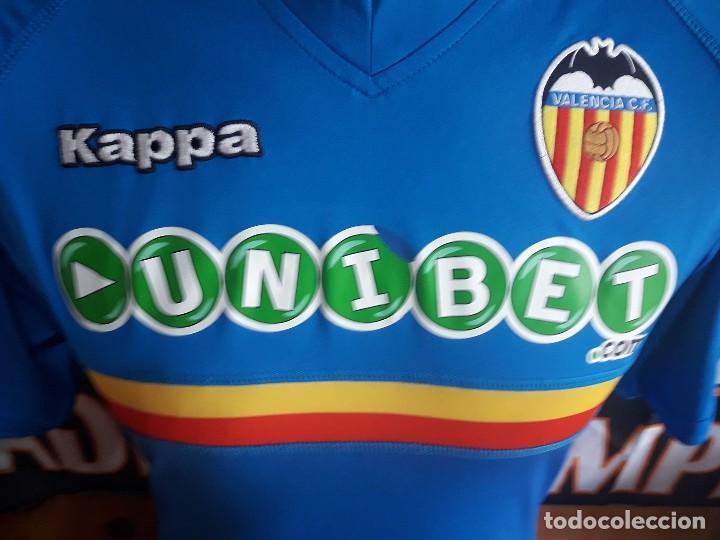 Coleccionismo deportivo  Camiseta Futbol VALENCIA C.F 2010-2011 Kappa  Unibet - Foto 2 - d17ecd287cc3f
