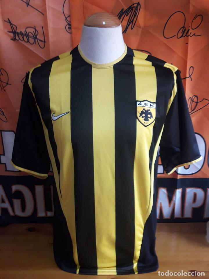 Camiseta Futbol Aek Atenas 2001 2002 Nike Buy Football T Shirts At