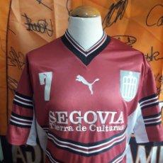 Coleccionismo deportivo: CAMISETA FUTBOL SALA CAJA SEGOVIA PUMA ENTRENAMIENTO Nº7. Lote 128700579