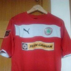 Coleccionismo deportivo: CAMISETA OFICIAL MATCH WORN CLIFTONVILLE FC TALLA M. Lote 128739271