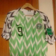 Coleccionismo deportivo: CAMISETA OFICIAL PREPARADA SELECCIÓN DE NIGERIA MUNDIAL 2018. Lote 128739543