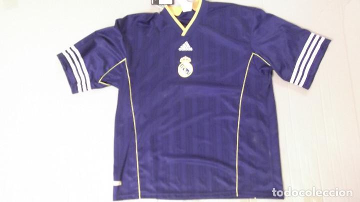 ec610c02ba737 CAMISETA FUTBOL ORIGINAL ADIDAS OFICIAL REAL MADRID NUEVA CON ETIQUETA  (Coleccionismo Deportivo - Ropa y