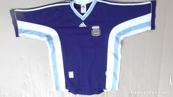 03acad3d5d667 CAMISETA FUTBOL ORIGINAL ADIDAS OFICIAL SELECCION ARGENTINA JUGADOR REDONDO  (Coleccionismo Deportivo - Ropa y Complementos