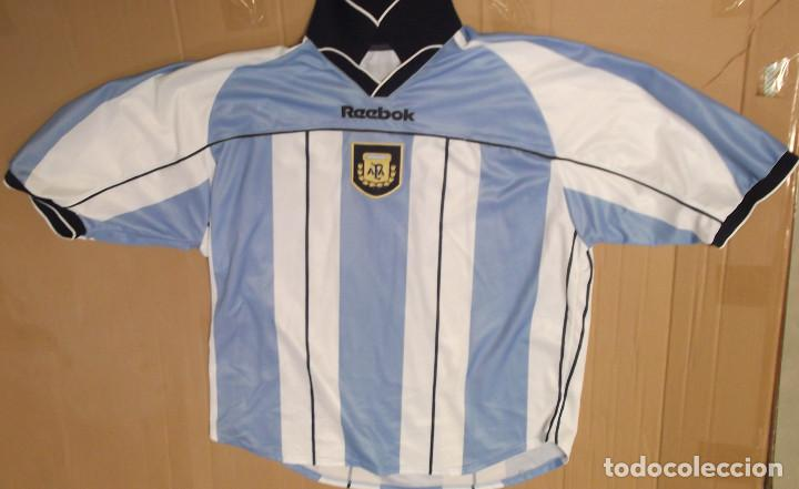 f30ce8d350d0b CAMISETA FUTBOL ORIGINAL REEBOK SELECCION ARGENTINA (Coleccionismo  Deportivo - Ropa y Complementos - Camisetas de