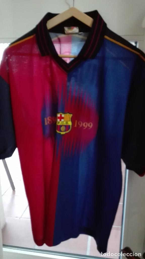 ANTIGUA CAMISETA FUTBOL CLUB BARCELONA RIVALDO (Coleccionismo Deportivo -  Ropa y Complementos - Camisetas de b9dc01837b439
