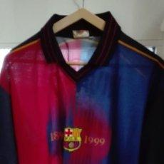 Coleccionismo deportivo: ANTIGUA CAMISETA FUTBOL CLUB BARCELONA RIVALDO. Lote 129969507